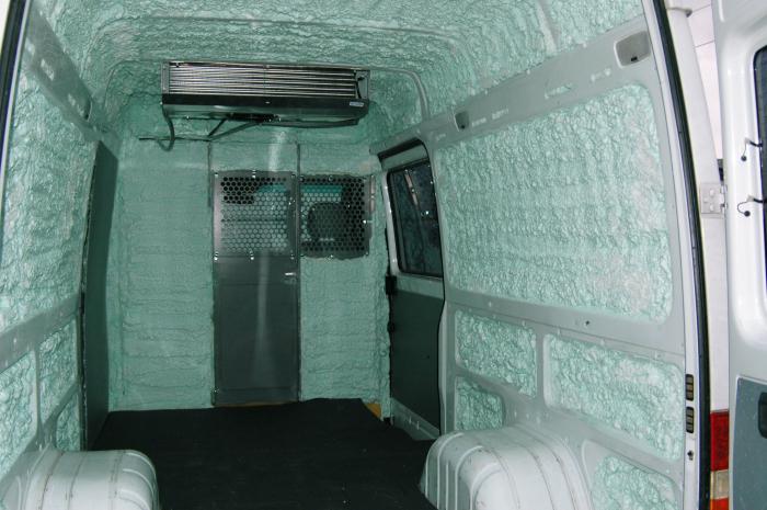 Газель утепление фургона своими руками 25
