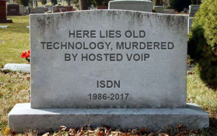 Why ISDN telephones are in decline