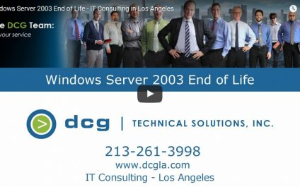 Windows 2003 End-of-Life Options – IT Consulting Los Angeles