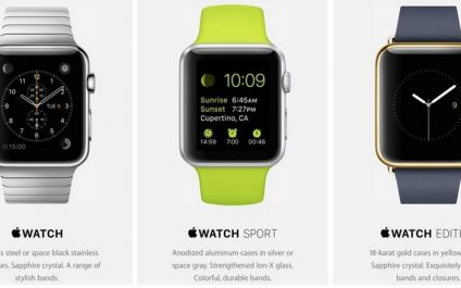 Coming Soon – The iWatch