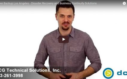 Server Backup Los Angeles – Disaster Recovery and Business Continuity Solutions