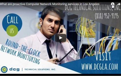 What are Proactive Computer Network Monitoring Services in Los Angeles?