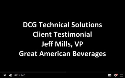 DCG Saves Great American Beverage $50k per year on IT support