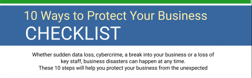 10 Ways to Prepare Your Business For the Worst [Checklist]