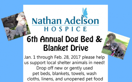 Nathan Adelson Hospice – 6th Annual Dog Bed & Blanket Drive
