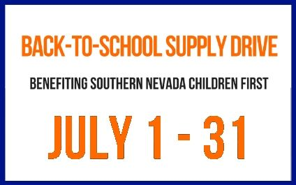 NetEffect Back-To-School Supply Drive