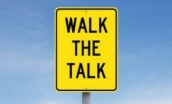 DO YOU 'WALK AND TALK' YOUR MSP BUSINESS' VALUES?