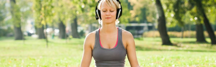 Is it a bad idea to play music in a yoga class?
