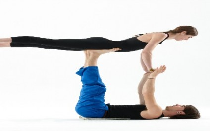 Introducing AcroYoga, the yoga for two