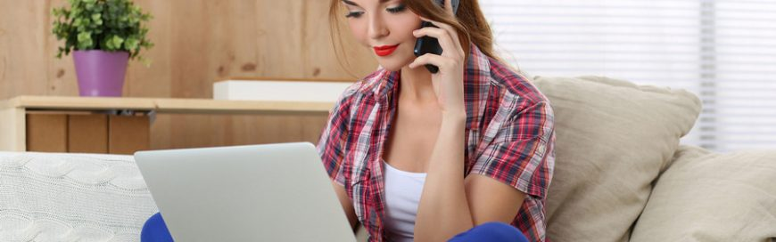 Empower work at home employees with VoIP