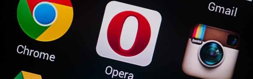 Enjoy Opera 41's browsing features