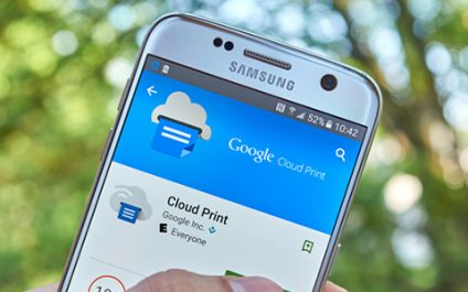 Utilizing Google's Cloud Print service