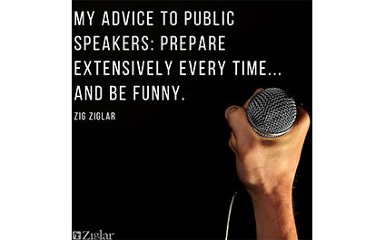 Speakers Advice