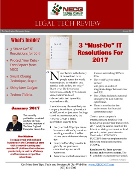 Newsletter - January 2017