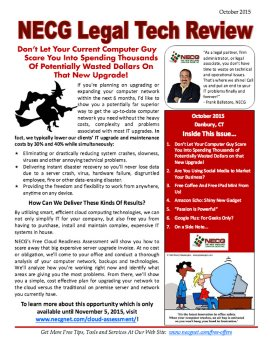 Newsletter - October 2015