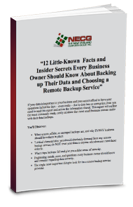 Free eBook - 12 Little-Known Facts and Insider Secrets Every Business Owner Should Know About Backing Up Their Data and Choosing a Remote Backup Service