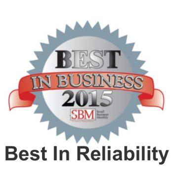 SBM Best In Reliability 2015