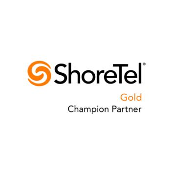 ShoreTel Certified Gold Champion Partner