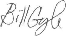 Bill Gough Signature
