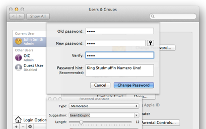 Your password is so simple, a human could crack it!