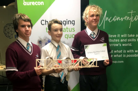 Year 9 students build bridges at Scitech (2)