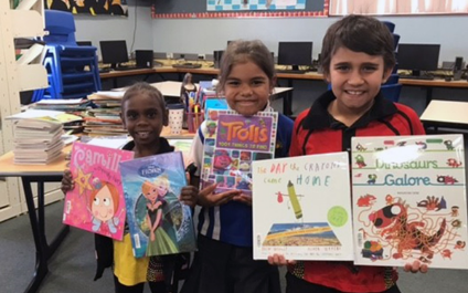 St Joseph's Wyndham grateful for library donations