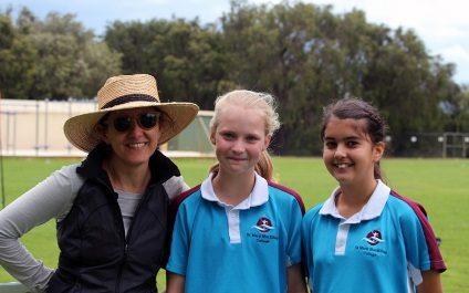 Year 5 and 6 students enjoy Cricket T20 Blast