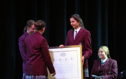 Sorry Day: National Apology framed for College