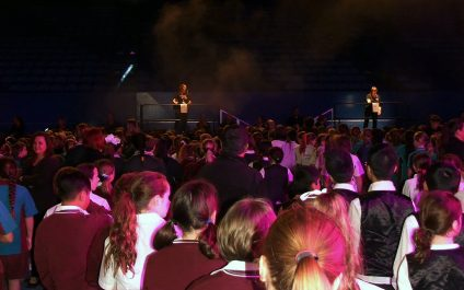 Primary choir join One Big Voice in Perth