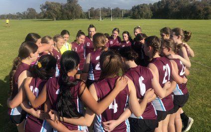 Senior Boys and Girls AFL: cross-town match-up