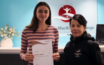 Student awarded bronze for Duke of Edinburgh