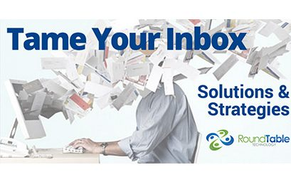 Webinar – Tame Your Inbox: Manage Your Email – September 30