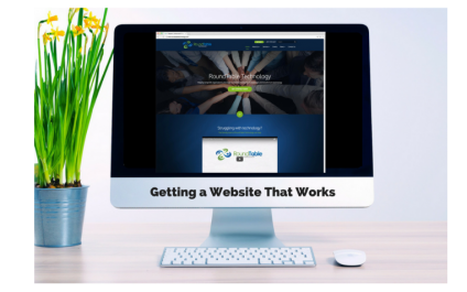 Webinar – Getting a Website That Works – October 27th
