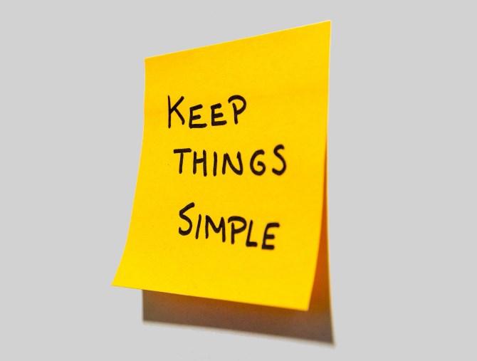 Keep-Things-Simple