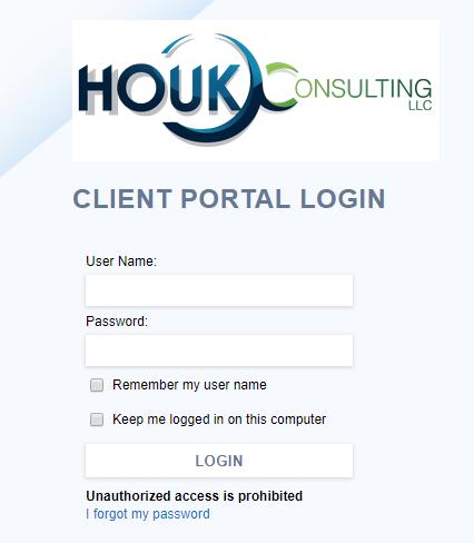 Houk Client Portal Login