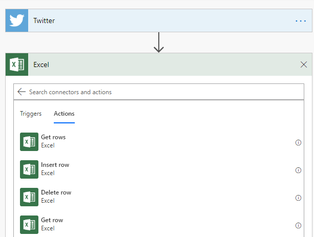 MS-Flow-Excel-Action