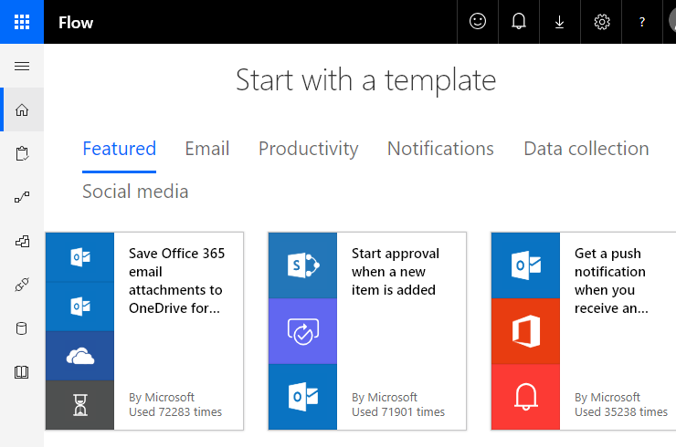 Microsoft-Flow-Template-Examples