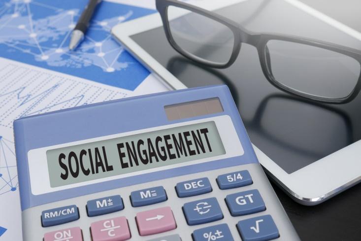 begin active on social media