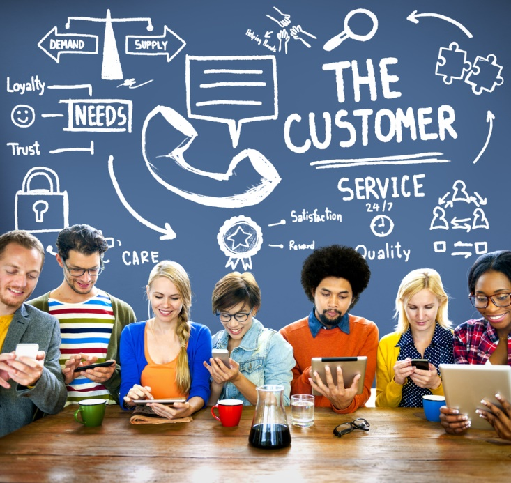 content for customer service