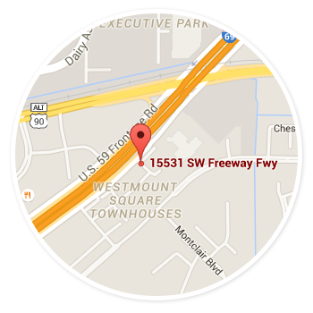 IT Services, Sugar Land, Greatwood, Meadows Place - Map