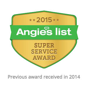 Angie's List - 2015 Super Service Award