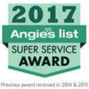 Angie's List - 2017 Super Service Award