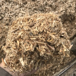 Reground Woodchip