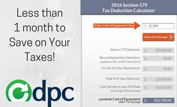 Vital Section 179 Tax Deduction Information