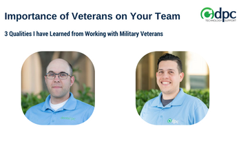 The Importance of Veterans on Your Team