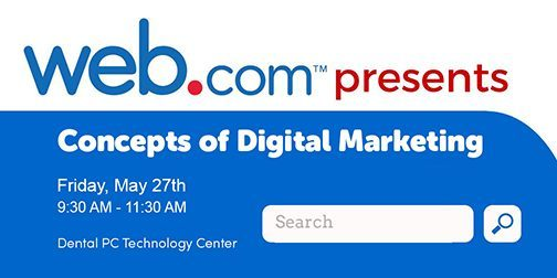 Join Us as Web.com Presents: Concepts of Digital Marketing