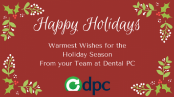 Happy Holidays from DentalPC