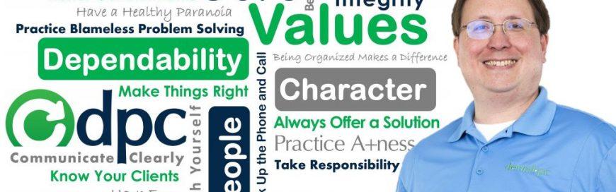 DPC Core Value / Behavior: Always Offer a Solution