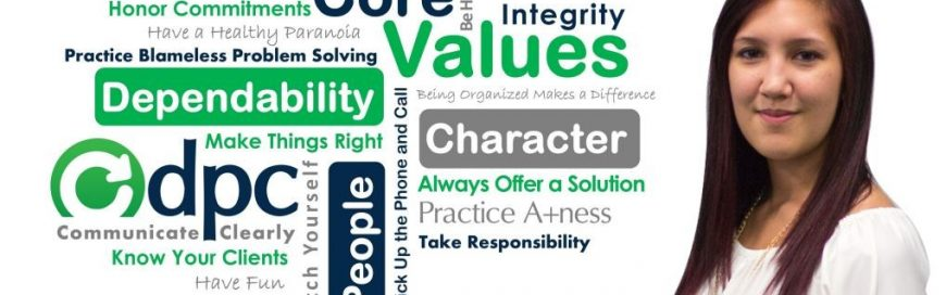 DPC Core Value / Behavior: Take Responsibilty