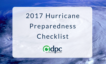 Download Your DentalPC 2017 Hurricane Preparedness Checklist TODAY!